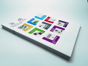 Impression brochure deux point métal économique écologique RSE France